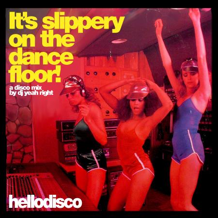 It s slippery on the dance floor a disco mini mix by dj for 1234 get on the dance floor dj mix